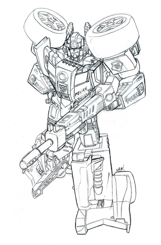 Free Transformer Coloring Pages Hound