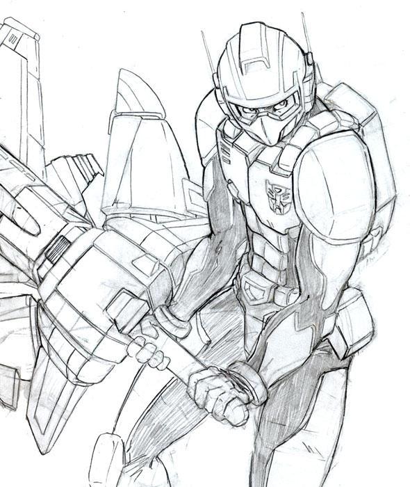 transformers: kicker by beamer
