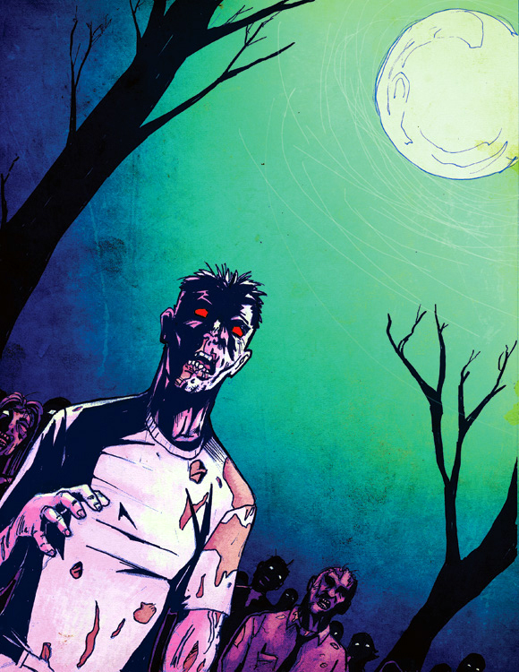 ZOMBIES by beamer