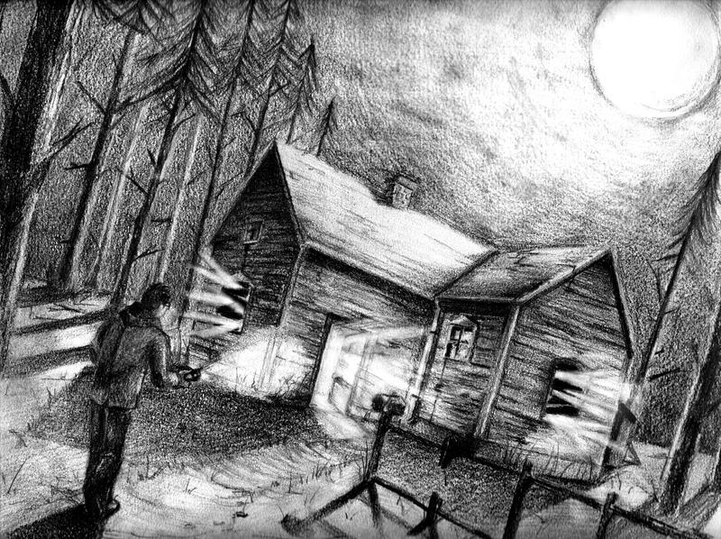 Haunted House By Beamer On DeviantArt