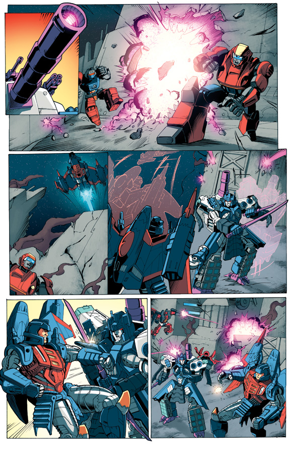 Transformers Timelines Invasion Prologue page 4 by beamer