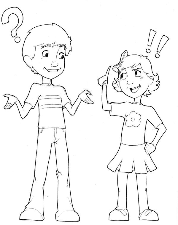 Caleb and Emma by beamer
