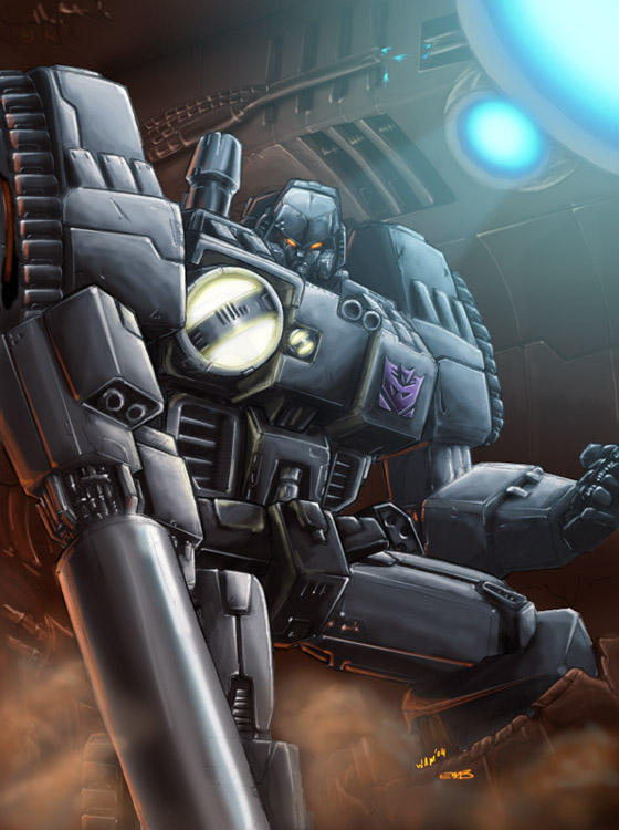 1db colors WW Megatron by beamer