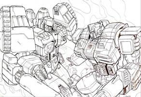 megatron vs prime by beamer