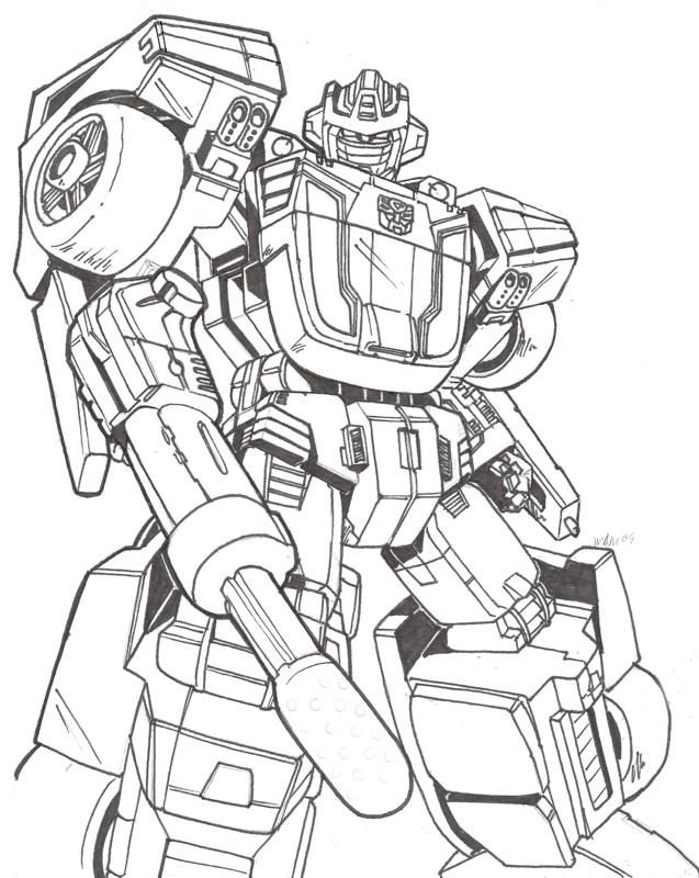 Wheeljack transformers coloring pages coloring pages for Transformers g1 coloring pages