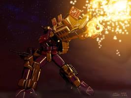 energon sixshot by beamer
