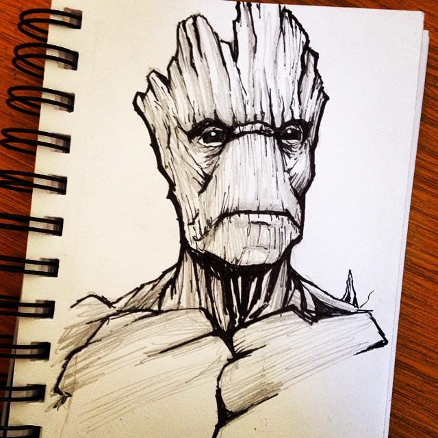 I am Groot by beamer