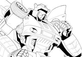Autobot Jazz by beamer