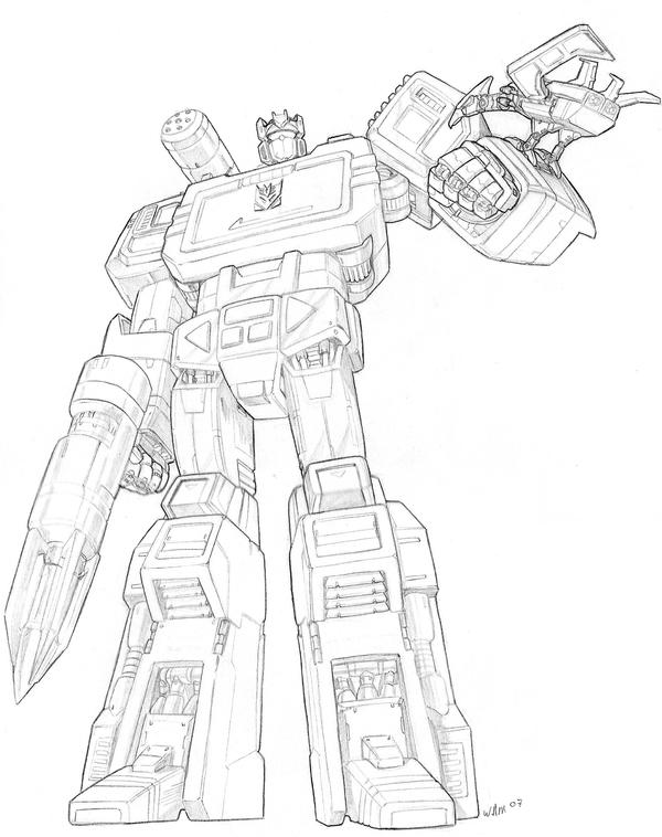 Soundwave by beamer on deviantart for Transformers g1 coloring pages