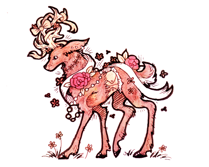 Deer by Theevilchiquite
