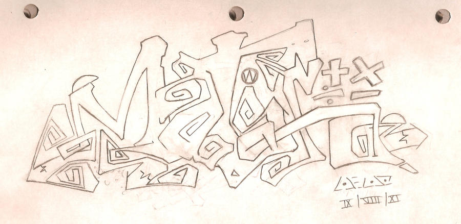 MaTh in graffiti by Ankh-kid on deviantART