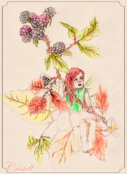 Autumn Fairy by cristell15