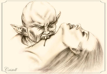 Vampire by cristell15