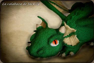Green Dragon amigurumi