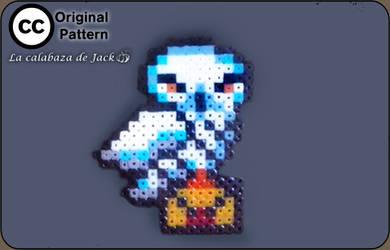 Hedwig Hama (Original Pattern) - Harry Potter by cristell15