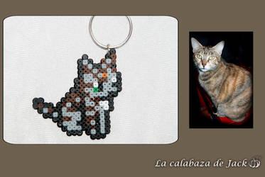 Custom Pixel Cat by cristell15