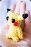Pikachu Amigurumi - Pokemon by cristell15