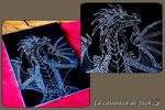 Engraving dragon by cristell15
