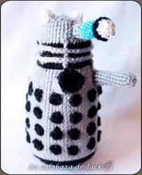 Dalek Amigurumi - Doctor Who by cristell15