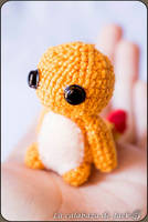 Little Charmander Amigurumi by cristell15