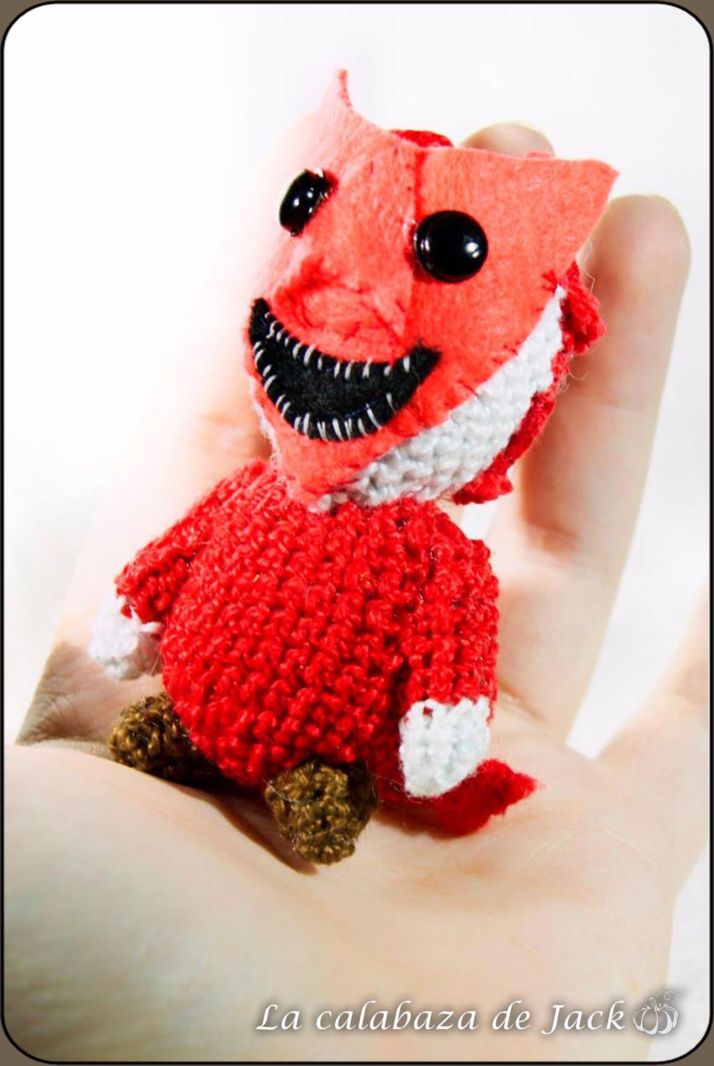 Lock Amigurumi - Nightmare before Christmas