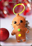 Gingerbread cookie by cristell15