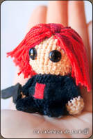 Black Widow Amigurumi by cristell15