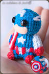 Captain America Amigurumi - Marvel by cristell15