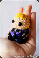 Hawkeye Amigurumi (Civil War) by cristell15