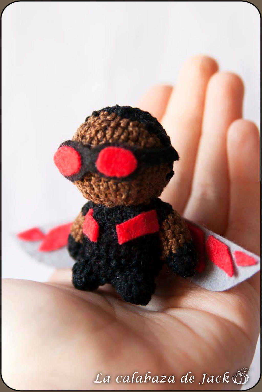 Amazon.com: Crochet Superman Keychian, Crochet batman Keychain ... | 1530x1024