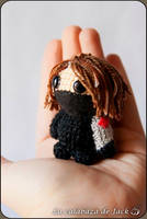 Winter Soldier Amigurumi (Captain America) by cristell15