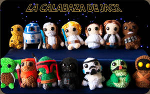 Star Wars Amigurumis by cristell15
