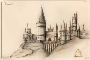 Hogwarts - Harry Potter fan art