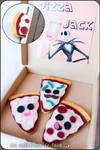 Pizza Bookmark by cristell15