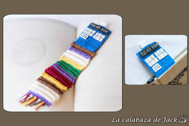 Tardis Bookmark - Doctor Who by cristell15