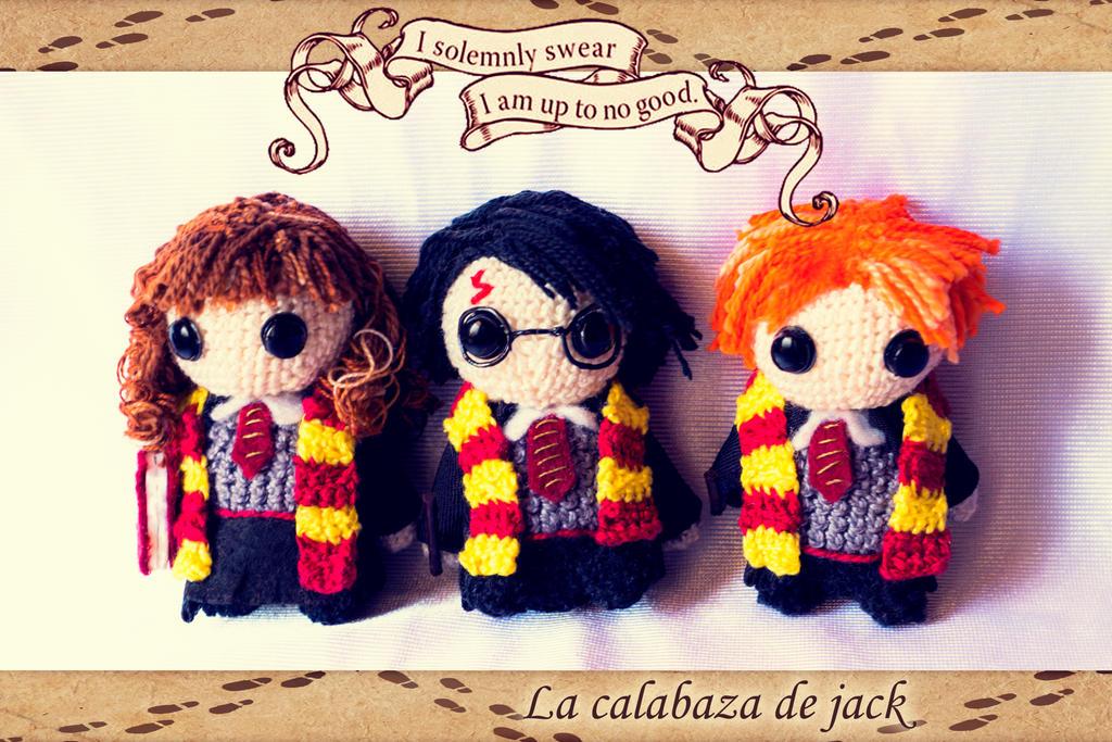 Amigurumi Harry Potter Pattern : Harry Potter Amigurumi by cristell15 on DeviantArt