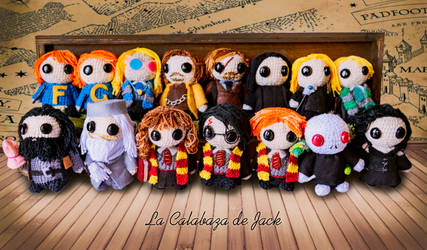 Harry Potter Amigurumis by cristell15