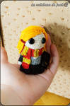 Ginny Weasley Amigurumi - Harry Potter