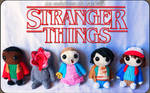 Stranger Things Amigurumis by cristell15
