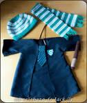 Baby Slytherin Costume (Harry Potter) by cristell15