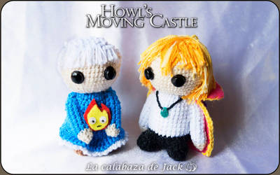 Howl's moving castle Amigurumis by cristell15