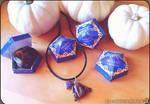 Chocolate frog necklace (Harry Potter) by cristell15