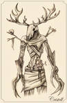Leshen - The Witcher Fan Art by cristell15