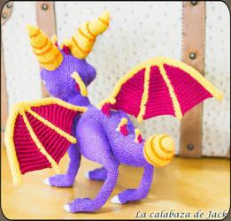 Spyro Amigurumi by cristell15
