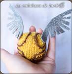 Crochet Snitch (Harry Potter)