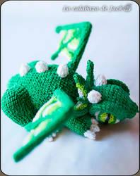 Crochet dragon by cristell15