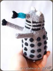 Dalek Amigurumi (Doctor Who) by cristell15