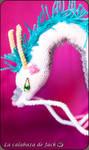 Crochet Haku Dragon (Spirited Away)