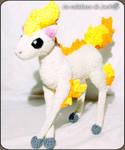 Ponyta Amigurumi (Pokemon)