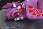 Purple Dragon by cristell15